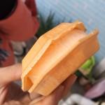 尾道のおすすめスイーツ!! からさわのアイスモナカはサクサク食感で美味しい!!