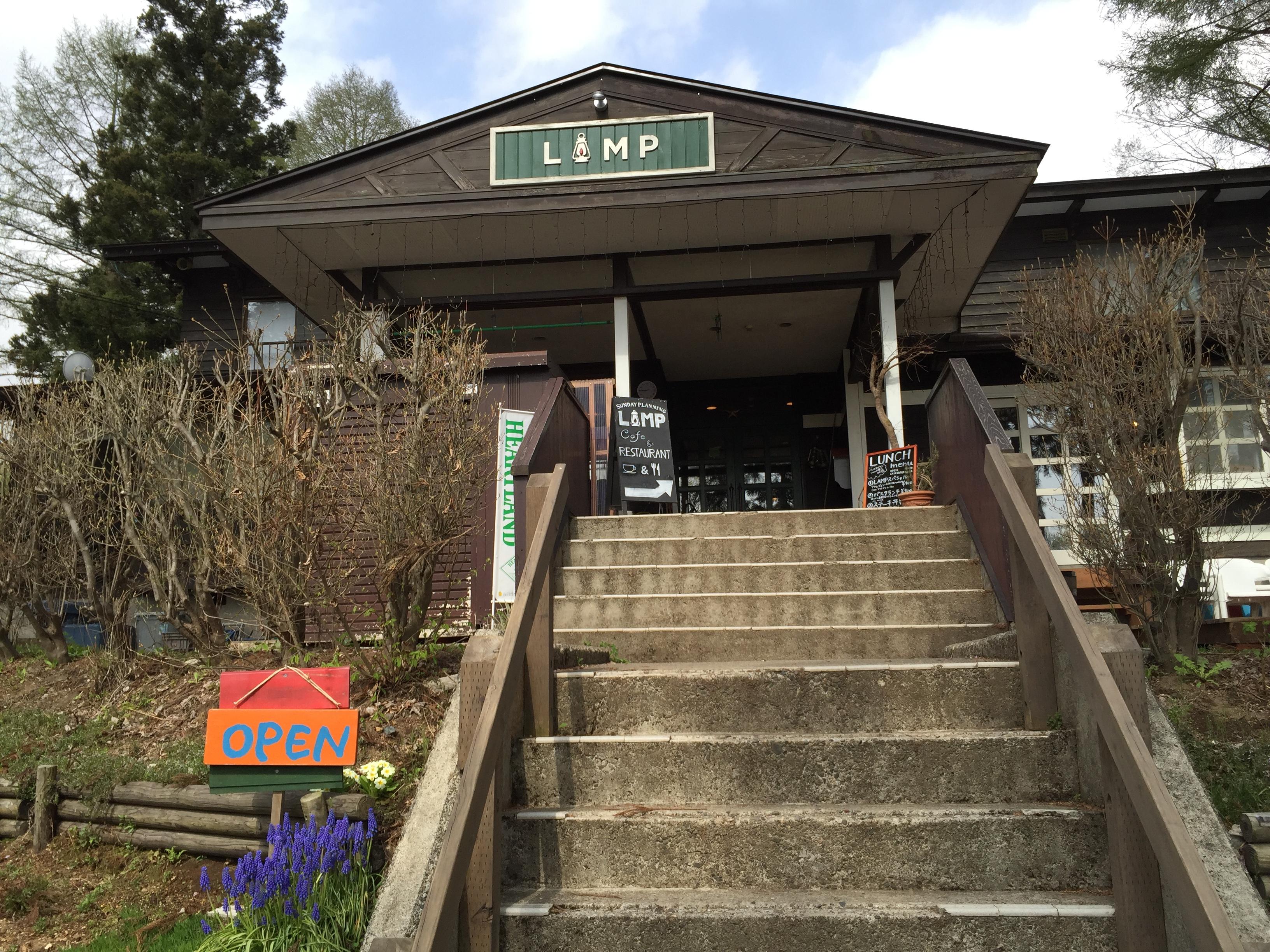 ゲストハウスLAMPの入口